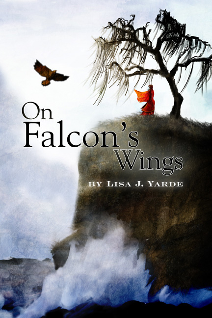 Book Cover Design: On Falcon's Wings