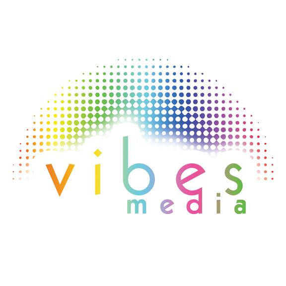 Vibes Media Logo Concept #1